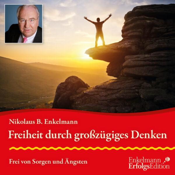 Bild CD-Cover Freiheit durch großzügiges Denken