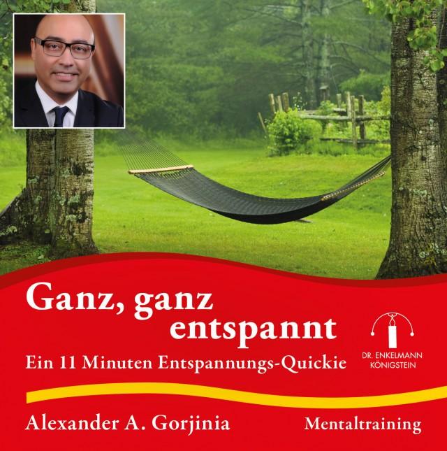 CD-Cover Alexander A. Gorjinia Ganz, ganz entspannt
