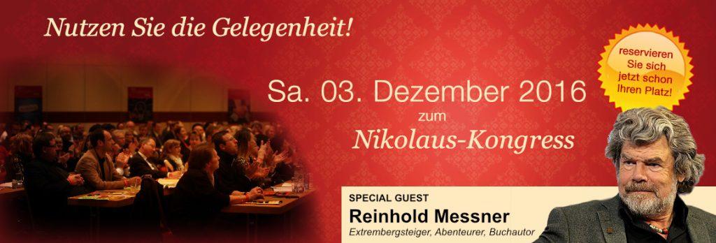 Banner Nikolaus-Kongress Institut Enkelmann Königstein