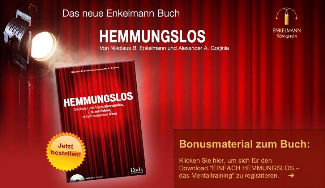 Hemmungslos – das neue Buch von Nikolaus Enkelmann und Alexander A. Gorjinia