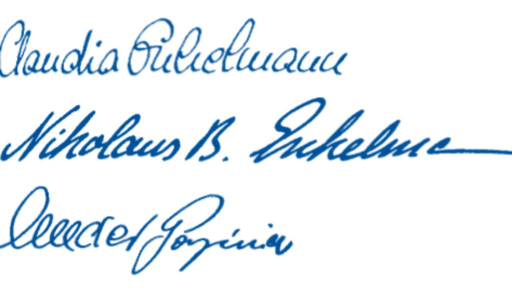 Claudia Enkelmann, Nikolaus B. Enkelmann, Alexander Gorgjinia