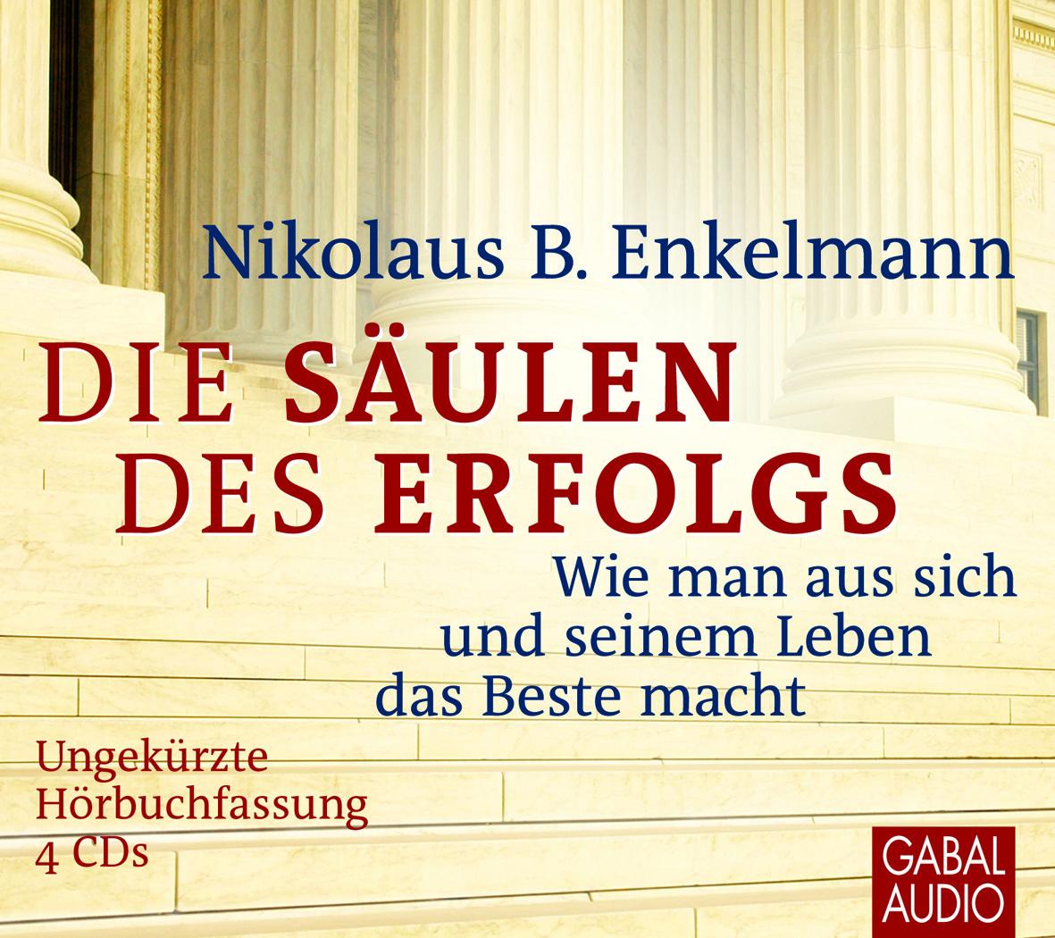 Cover Hörbuch Die Säulen des Erfolgs