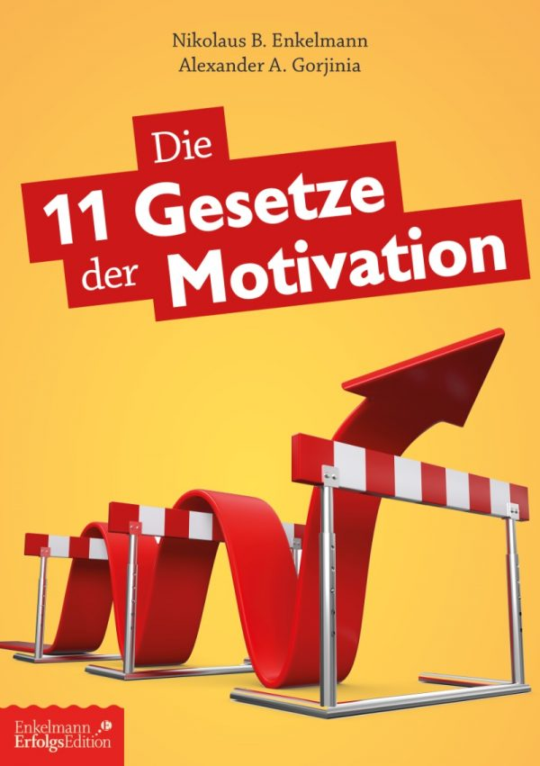 Abb Cover 11 Gesetze der Motivation