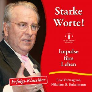 Abbildung CD-Cover Starke Worte von Nikolaus B. Enkelmann