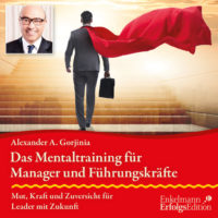Bild CD-Cover Mentaltraining für Führungskräfte