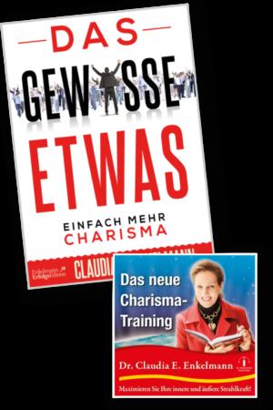 Das gewisse Etwas & Charisma-Training, Buch & CD, für Abonnenten