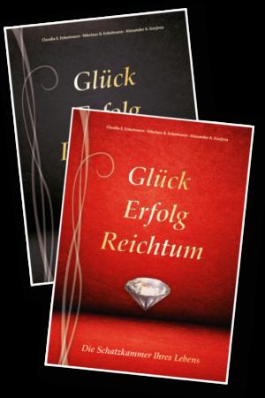 Glück, Erfolg, Reichtum - 2 Tagebücher - für Abonnenten