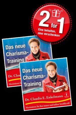 Das neue Charisma-Training - 2 for 1 - für Abonnenten
